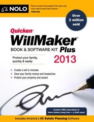 Quicken Willmaker Plus 2013 Edition: Book & Software Kit2013 Edition - Slightly Imperfect