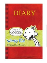 Diary of a Wimpy Kid Book Journal  -     By: Jeff Kinney