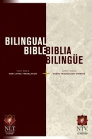 Bilingual Bible / Biblia bilingue NLT/NTV, Hardcover  -