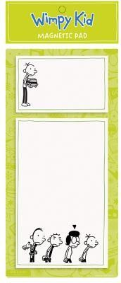 Diary of a Wimpy Kid Lime Magnetic Pad