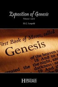 Exposition of Genesis: Volumes 1 and 2