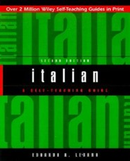 Italian: A Self-Teaching Guide, Edition 0002
