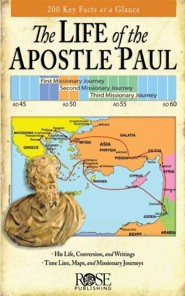 The Life of the Apostle Paul, Pamphlet - 5 Pack   -