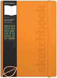 Ecosystem Sketchbook: Large Clementine Hardcover  -     By: Ecosystem(ED.)