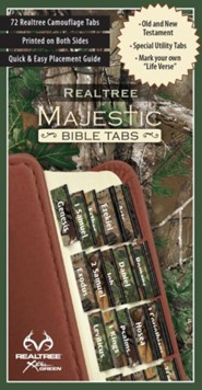 Real Tree: Majestic Bible Tabs