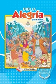 Reina Valera Children's Joy Bible - Boy's: Biblia Alegria para Ninos - Spanish  -     By: Biblica