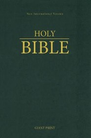NIV Giant-Print Holy Bible, hardcover