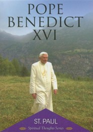St. Paul  -     By: Pope Benedict XVI