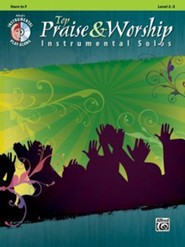 Top Praise & Worship Instrumental Solos (Horn in F)