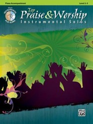 Top Praise & Worship Instrumental Solos (Piano Accompaniment)  -