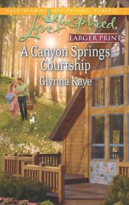 A Canyon Springs Courtship - Large Print Edition