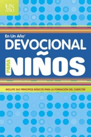 Devocional en un a&#241o para ni&#241os, One Year Devotions for Kids #2  -