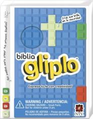 Biblia Gliplo NTV, Silicona Azul  (NTV Glip-it! Bible Blue Silicone)