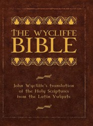 Wycliffe Bible, Cloth