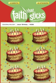 Stickers: Jesus Birthday