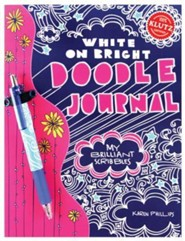 Write in White Doodle Journal: My Brilliant Scribbles