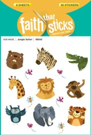 Jungle Safari Stickers