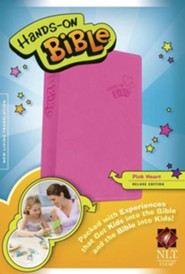 NLT Hands-On Bible for Girls, Updated Edition