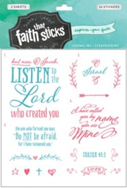 Isaiah 43:1 Stickers