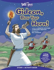 Gideon, Blow Your Horn! Story and Activity Book
