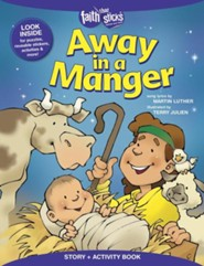 Away in a Manger, Story and Activity Book  -     By: Terry Julien, Martin Luther