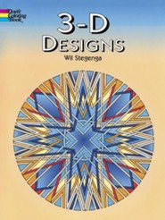 3-D Designs  -     By: Wil Stegenga &  Coloring Books