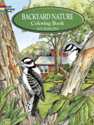 Backyard Nature Coloring Book  -     By: Dot Barlowe