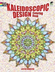 Kaleidoscopic Design Coloring Book