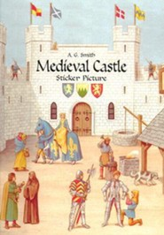 Medieval Castle Sticker Picture