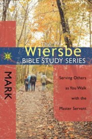 Mark: The Wiersbe Bible Study Series  - Slightly Imperfect