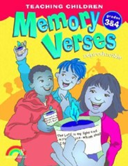Teaching Children Memory Verses Grades 3-4  -              By: Mary J. Davis, Chuck Galey(ILLUS) & Chris Winn(ILLUS)