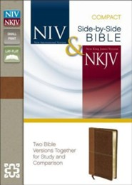 NIV and NKJV Side-by-Side Bible, Compact: Two Bible Versions Together for Study and Comparison  -     By: Zondervan