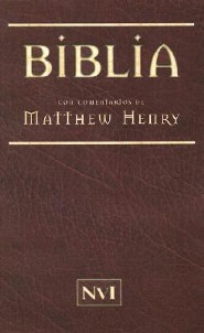 Biblia Matthew Henry-NVI = Matthew Henry Bible-RV 1960, Paper Over Board, Brown