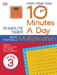 10 Minutes a Day: Multiplication Grade 3