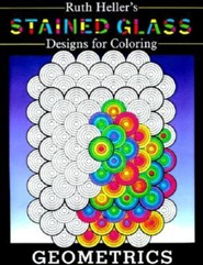 Stained Glass Designs for Coloring: Geometrics