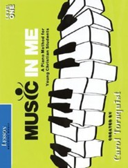Music in Me - A Piano Method for Young Christian Students: Lesson (Reading Music) Level 1
