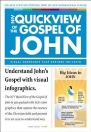 QuickView of the Gospel of John, Pack, Softcover