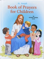 Saint Joseph Book of Prayers for Children