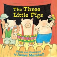 The Three Little Pigs  -     By: James Marshall     Illustrated By: James Marshall
