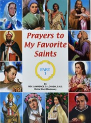Prayers to My Favorite Saints (Part 1) - 10 pack