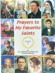Prayers to My Favorite Saints (Part 2) - pack of 10