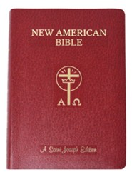 Saint Joseph Giant Print Bible-NABRE New American Bible Edition