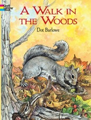 A Walk in the Woods Coloring Book  -     By: Dot Barlowe