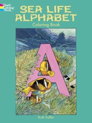 Sea Life Alphabet Coloring Book  -     By: Ruth Soffer