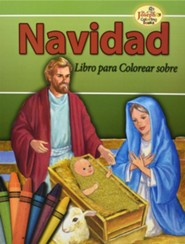 Navidad Coloring Book  -     By: Catholic Book Publishing Co