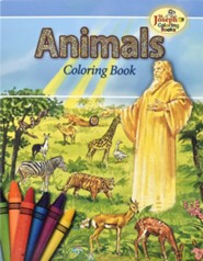 Animals of the Bible Coloring Book - 10 pack