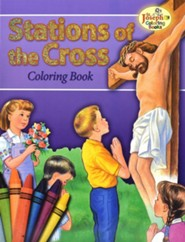 Coloring Book about the Stations of the Cross -pack of 10