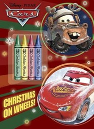 Christmas on Wheels! [With Crayons]