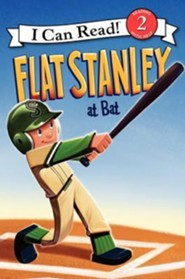 Flat Stanley at Bat