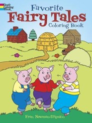 Favorite Fairy Tales Coloring Book  -     By: Fran Newman-D'Amico
